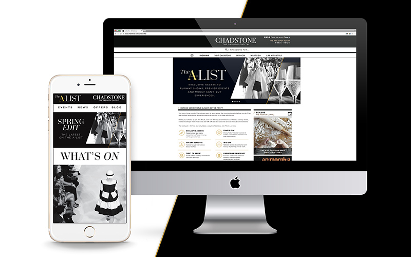 Chadstone loyalty website for A-List